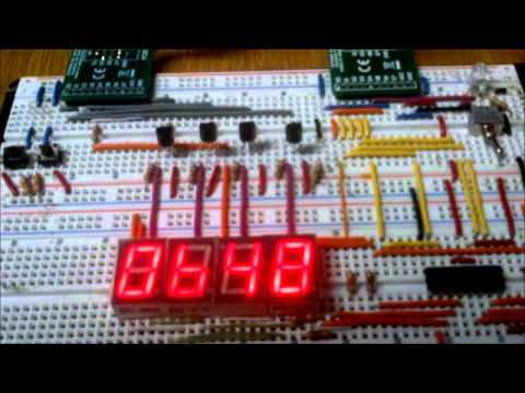 Proyecto Microcontroladores Reloj Digital PIC 16F84A
