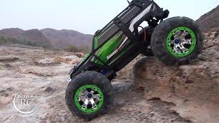getlinkyoutube.com-The Amazing Traxxas SUMMIT 1/10 Crawling