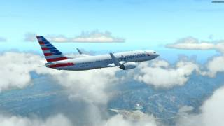 getlinkyoutube.com-X-Plane 11 beta | KSFO to KLAX | Default 737  + Various add ons