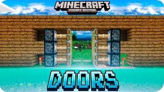 getlinkyoutube.com-Minecraft PE - Hidden PISTON DOOR Redstone Tutorial - 0.16.0 / 0.15.0 MCPE