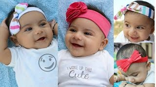 getlinkyoutube.com-Headbands for babies and toddlers from old clothes Tutorial: 4 cute styles