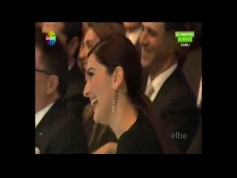 Berguzar Korel and Halit Ergenc  ShowTV