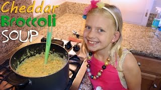 getlinkyoutube.com-Kid Size Cooking: Broccoli Cheddar Soup