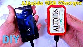 Altoids Phone Charger