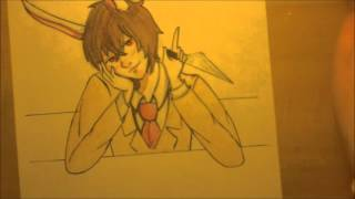 getlinkyoutube.com-Samgladiator Yandere High School Speed Draw #2