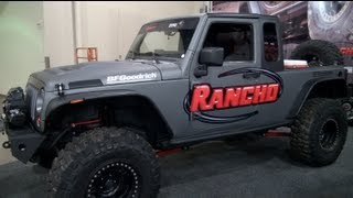 getlinkyoutube.com-Jeep Wrangler Unlimited Pickup Conversion Revealed