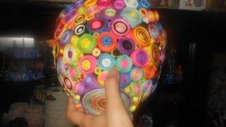 getlinkyoutube.com-Rolled Paper Flower Vase