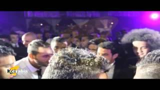 getlinkyoutube.com-غناء تامر حسني ورقص نجوم الزمالك في فرح عمر جابر - كورابيا