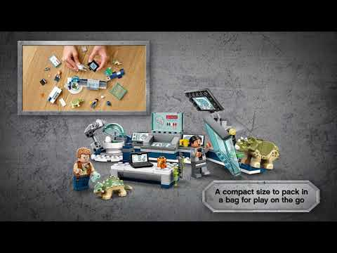 LEGO Jurassic World Dr. Wu's Lab: Baby Dinosaurs Breakout - 75939