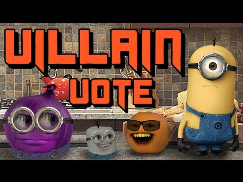 Annoying Orange - Despicable Me 2 - Choose Your Villain!