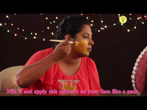 How To Apply SANDALWOOD FACE MASK On Face