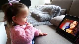 getlinkyoutube.com-Amira Willighagen - One of Amira's Youngest Fans - 26 December 2013