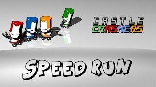 getlinkyoutube.com-Castle Crashers - Speed Run (Any% - Segmented Run - Modded Save) [39:34]
