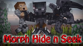 getlinkyoutube.com-Minecraft Mods | MORPH HIDE AND SEEK - ALIEN VS PREDATOR! (AvP, Alien, Predator)