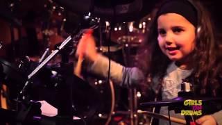 getlinkyoutube.com-Eduarda Henklein - no Girls on drums festival, tocando: Wasting Love -  Iron Maiden