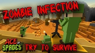 getlinkyoutube.com-Ace Of Spades: Zombie Infection! - Try to Survive!