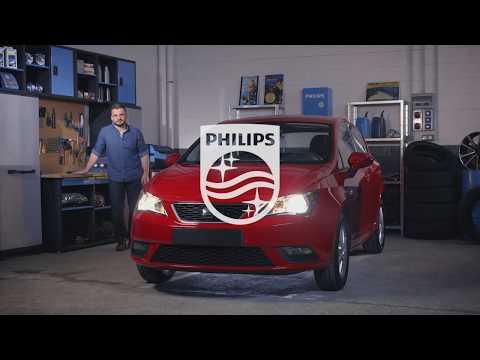 PHILIPS УЧЕБНИК - Как заменить лампы головного освещения на вашем Seat Ibiza V