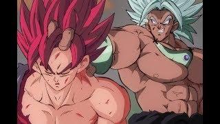 getlinkyoutube.com-Evil Goku vs. Broly
