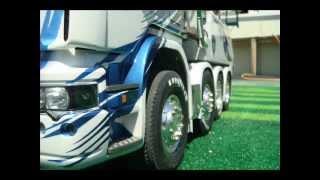 tamiya 1/14 scale RC TRUCK SCANIA R620 TOPLINE 8X4 Wrecker TRUCK