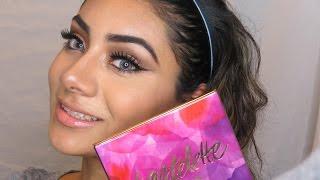 getlinkyoutube.com-Makeup Tutorial using Tartelette in Bloom    NatalieContour