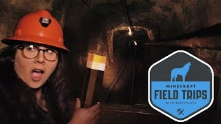 getlinkyoutube.com-RIDING IN A MINE CART - MINECRAFT FIELD TRIPS - THE MEGA TAIGA (EP.3)