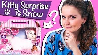 getlinkyoutube.com-Kitty Surprise Snow (Кошка с сюрпризом Снежок)