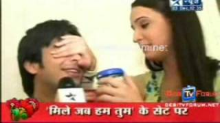 Samrat aka Mohit Birthday Celebrations on SBS 3rd December(Rati and Sanaya present)