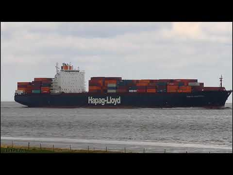 Click to view video TOKYO EXPRESS - IMO 9193290 - Germany - Elbe - Otterndorf