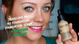 getlinkyoutube.com-Perricone MD No Foundation Foundation Serum & Bronzer Review & Demo