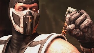 getlinkyoutube.com-Mortal Kombat X - Klassic Chrome Scorpion Costume / Skin *PC Mod* (1080p 60FPS)