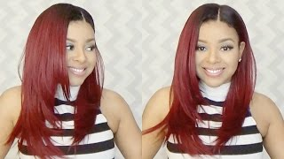 Outre Natural Yaki 18 Lace Front Wig | Sistawigs.com
