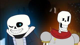 Skeletons and... a human? (Undertale Parody Animation)
