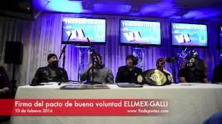 ELLMEX y GALLI firman pacto de buena voluntad en Chicago