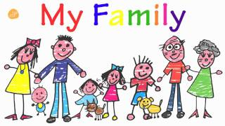getlinkyoutube.com-Family Words for Toddlers! - My Family Vocabulary - ELF Kids VIdeos