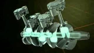 Yamaha YZF R1 crossplane crankshaft technology explained