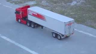 getlinkyoutube.com-Scania Highline R620 Tamiya com Bau e controle FUTABA ATTACK 4WD