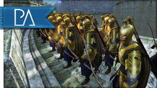 getlinkyoutube.com-SIEGE AT HELM'S DEEP - Third Age Total War Gameplay
