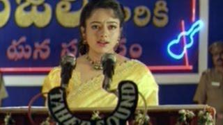 getlinkyoutube.com-Raja Telugu Movie    Climax Scene    Venkatesh, Soundarya, Abbas