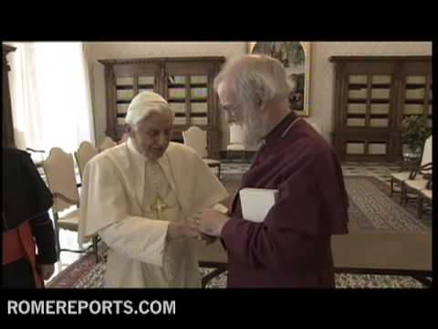 Pope and Anglican leader agree to strengthen ecumenical dialogue
