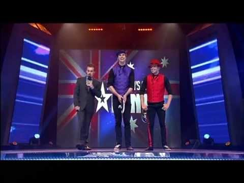 Phly Crew - Dancing Duo - Semi Final 7 Australia's Got Talent 2012 [FULL]