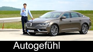 Renault Talisman FULL REVIEW test driven 1.6 dci all-new neu 2017 Sedan + GrandTourer check