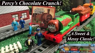 getlinkyoutube.com-Thomas & Friends Trackmaster New Engine Story-Percy's Chocolate Crunch!