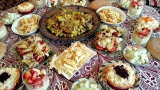 getlinkyoutube.com-مائدة غداء متنوعة مع طبخ ليلى