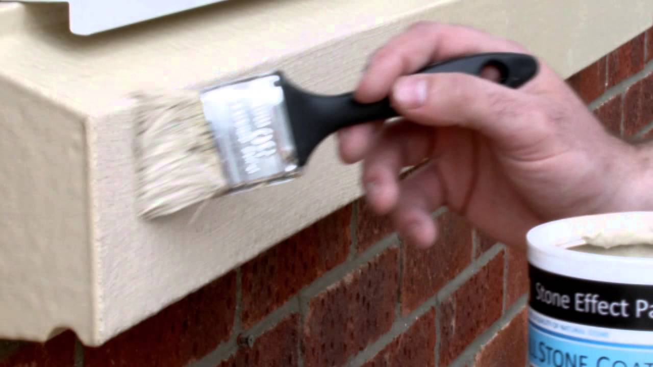 Fireplace Stone Effect Paint - How to Create a Stone Fireplace