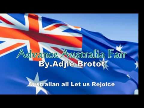 Advance Australia Fair - National Anthem of Australia (+ Lyric)