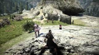 getlinkyoutube.com-Black Desert Online CBT Early Build Sorcerer Gameplay No UI HD