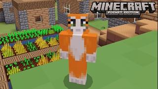 getlinkyoutube.com-Minecraft: Pocket Edition - No Home Challenge - I Am A Noob!