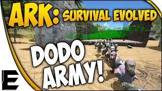 getlinkyoutube.com-ARK Survival Evolved Gameplay ➤ DODO ARMY! - NEW MINI-SERIES #1