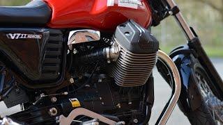 """getlinkyoutube.com-Moto Guzzi V7 II """"Due"""" Special 2015 - Pure Sound & Good Vibrations"""