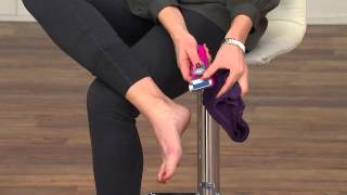 getlinkyoutube.com-Emjoi Micro-Pedi Battery Operated Callus Remover with Kerstin Lindquist